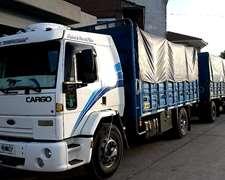 Ford Cargo 1730 Chasis Con Carroceria Baranda Volcable