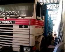 Scania 113h Año 1993 Con Carrocería Paletera