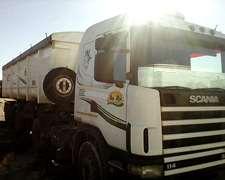 Scania 114 De 320 Hp Tractor Mas Batea Ombu 2+1