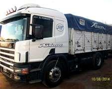 Scania 330, Mod 2000, Trabajando.
