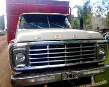 Vendo Camion Ford 7000 Con Carroceria Mod 82.