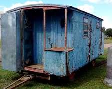 Casilla Rural ,baño Y Baulera Buen Estado