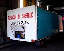 Vendo Casilla Con Toldo 7 M 50 Cm De Largo