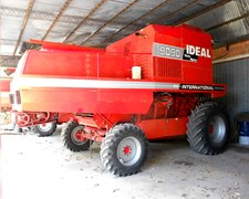 Cosechadora Ideal 9090 4x4, Impecable