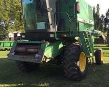 Cosechadora John Deere 1075 Con Motor Reparado, Muy Linda