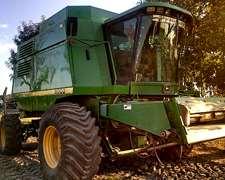 Cosechadora John Deere 9600 Doble Tracción