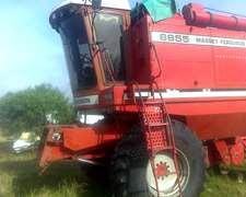 Cosechadora Massey Ferguson 6855 Hidro4 Arrocera