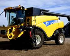 Dueño Vende Cosechadora New Holland Cr 9060
