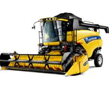 Cosechadora New Holland Cr 5080 Con Cabezal De 25 Pies