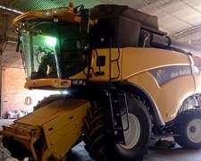 Cosechadora New Holland Cr 9060 Usada