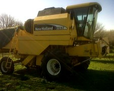 Cosechadora New Holland Tc-57 2007 700 Horas