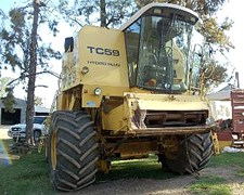 Cosechadora New Holland Tc-59 - Año 97 - 6000 Hs