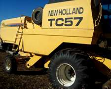 New Holland Tc 57 Año 2002 Muy Buena 19 Pies