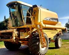 New Holland Tc 59. Año 2003. Con Plataforma De 23 Pies.