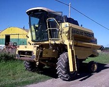 Vendo Cosechadora New Holland Tc57 Oferta Contado