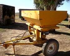 Fertilizadora De Arrastre Grosspal 1000kg Cuchillas Nuevas