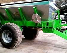 Fertilizadora Metalfor 8000lts Con Balanza Y Dosis Variable