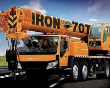 Grua Sobre Camion Iron Xcmg 70tn - Financiacion Y Leasing