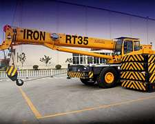 Gruas Todo Terreno Iron Xcmg Desde 15 Tn Hasta 200 Tn