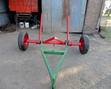 Carro Transportador De Un Rollo