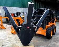 Accesorio Minicargadora Extractor De Árboles Nuevo