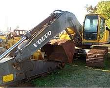 Excavadora Volvo 2002 – 1m3