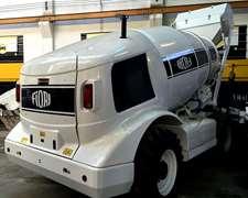 Hormigonero Con Mixer De Auto-cargado Fiori Modelo Db-x35