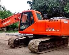 Id.362-excavadora Daewoo 220 Lcv