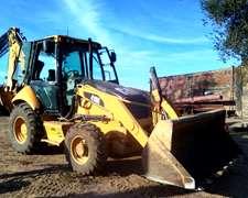 Pala Retro Caterpillar 416 E 4x4- Brazo Ext-