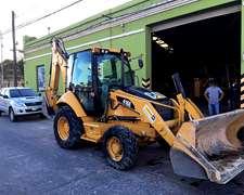 Retro Y Pala Caterpillar 416 E 4x4 Año 2011 Con 2.900 Hs.