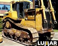 Topador Caterpillar D8r, Año 2002 Con 14.200 Horas Y 320 Hp