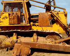 Topadora Caterpillar D9 H 1978 Impecable