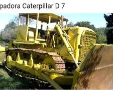 Topadoras Caterellar D7. Modelo 75