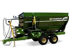 Mixer Pampero Horizontal De 10 M3