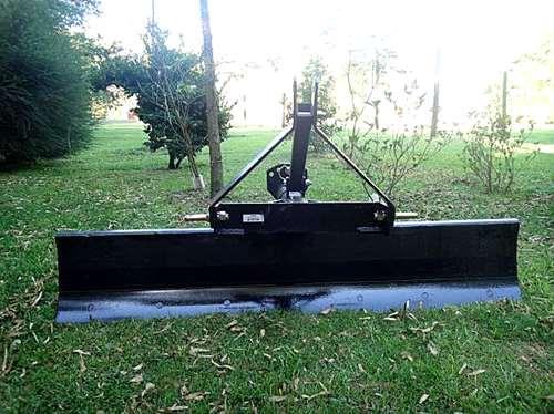 Cuchilla Niveladora Para Tractor 2.40 Mts. Reforzada.