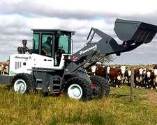 Pala Cargadora Neumática Marca Hanomag Modelo Farm H148