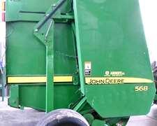 Rotoenfardadora John Deere 568