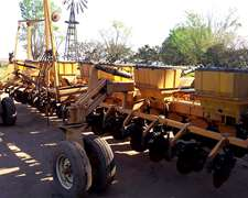 Sembradora Agrometal 16 A 52 Tiro De Punta Muy Buena