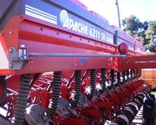 Vendo Sembradora Apache 6210 De 14 Surcos A 52