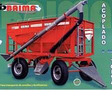 Acoplado Autodescargable Baima B 8000