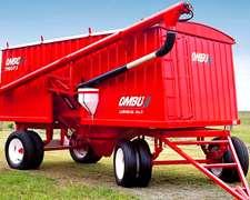 Acoplado Tolva Para Semillas Y Fertilizantes 13 M3 Ombu