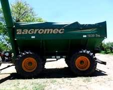 Tolva Autodescargable Agromec 18/20 Ton. - 2.007 / Muy Buena