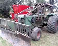 Deutz-fahr A144 C/pala Desmonte-poncho Y Jaula Motor M2114