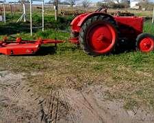 Equipo De Tractor Y Desmalezadora 0km