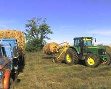Equipo, Tractor 7515 J D Y Palas Tamden