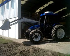 New Holland Tl 95 Doble Tracción Con Pala