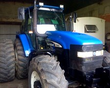 Tractor New Holland Tm 150 Año 2005, 4500 Horas