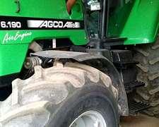 Tractor Agco Allis 6.190 D.t. Año 2007 / 2460 Hs De Trabajo