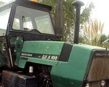 Tractor Deutz Fahr Ax 4.100 D/embrague Y 18-4x34 Nuevas