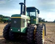 Tractor Jd 8440 Articulado, Mod. 85, 215 Hp, Cabina Con A.a